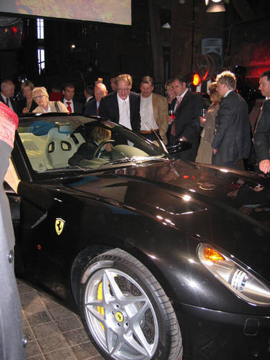 Ferrari 599 GTB Fiorano 在德國紅點設計博物館亮相