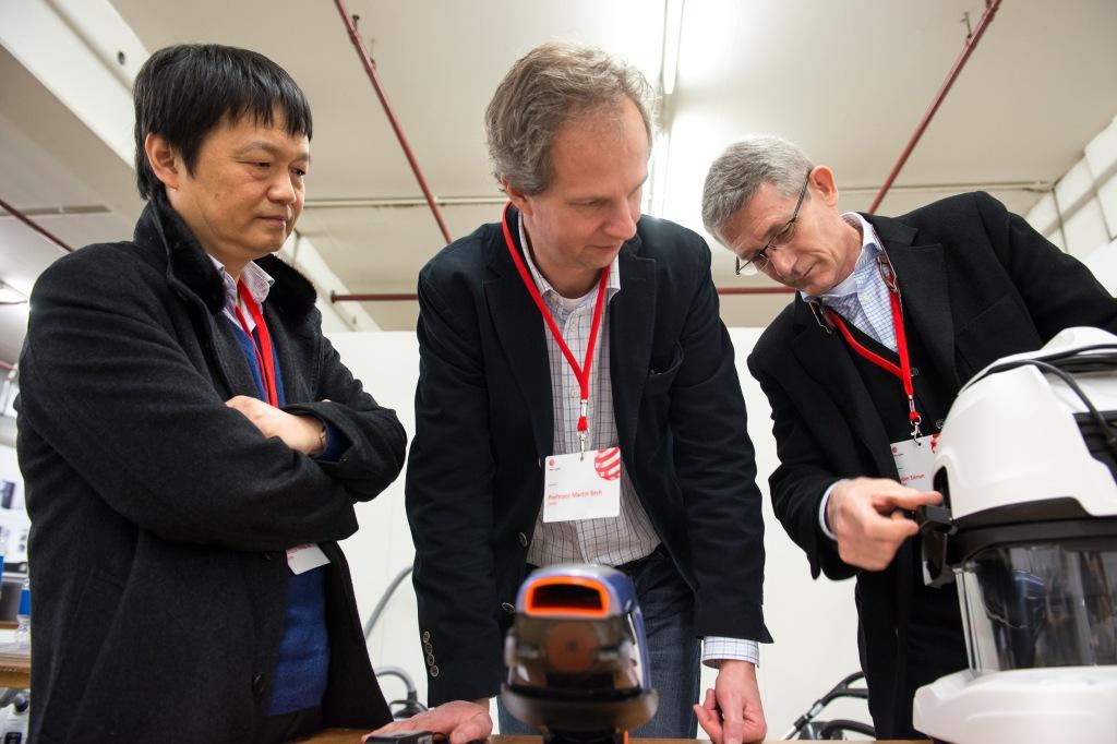 紅點國際評審團:Prof. Renke He、Prof. Martin Beeh、Robin Edman(左至右)