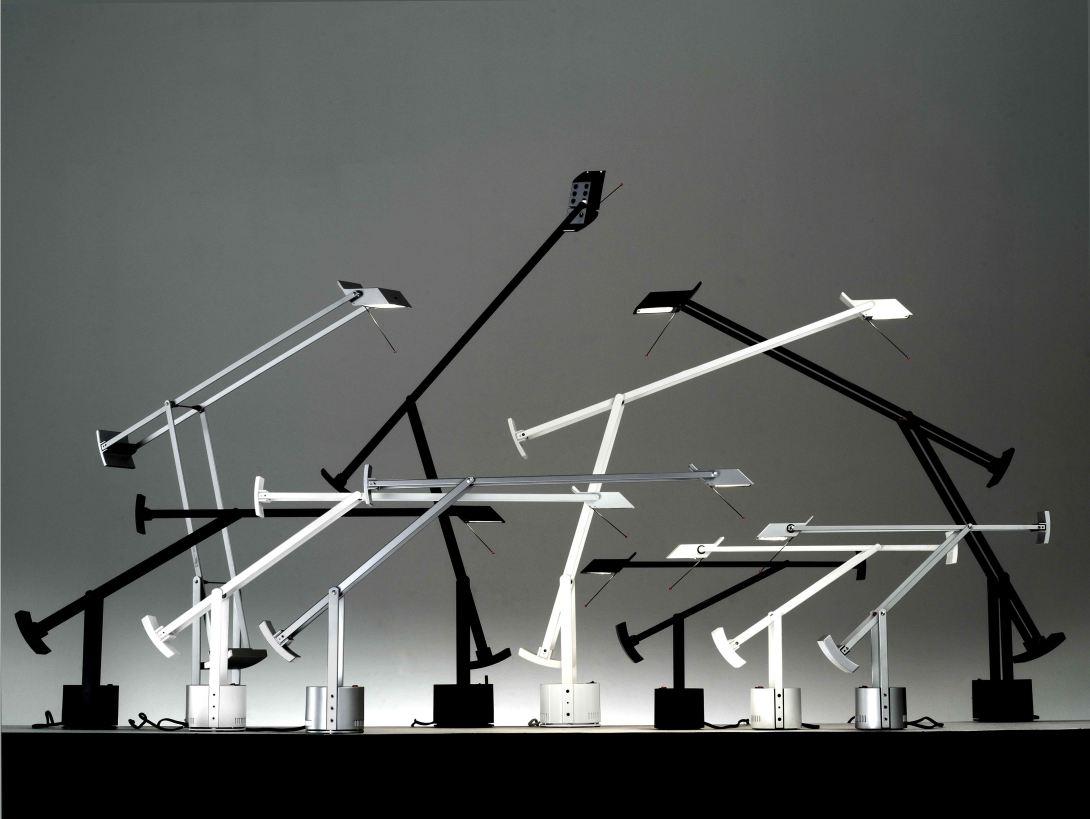 Artemide品牌設計的「TIZIO」桌燈系列。.jpg