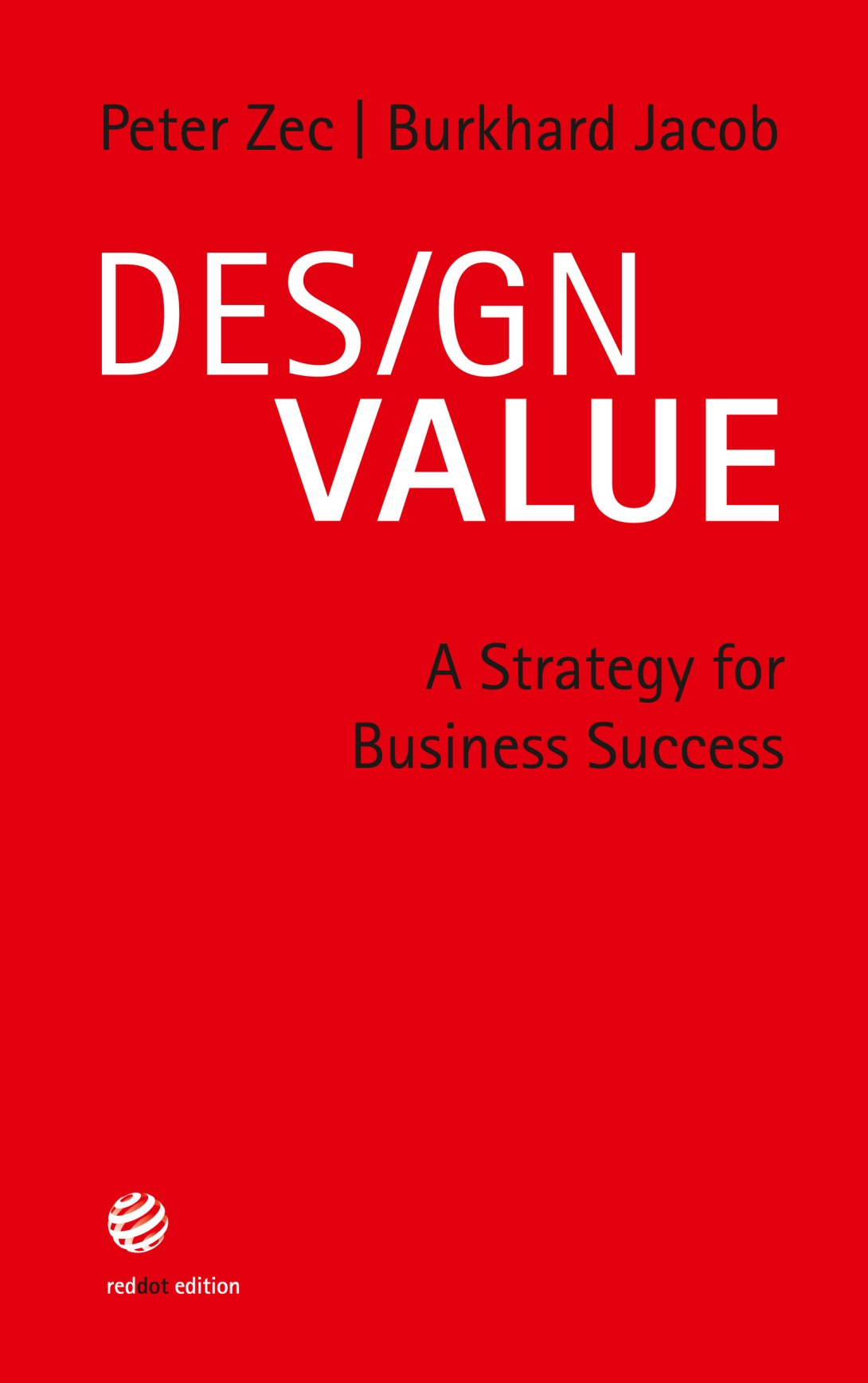『Design Value – A strategy for business success』一書封面