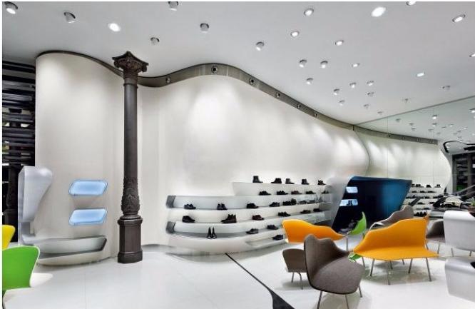 Carlo Pazolini Milan-Shop Design