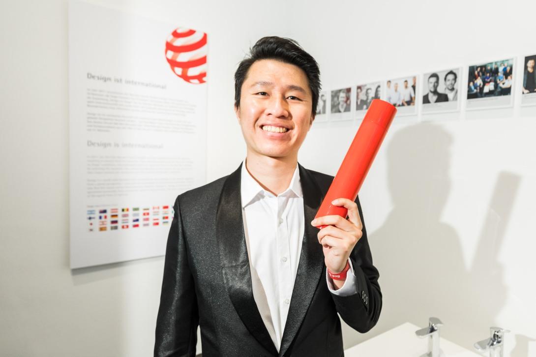 05_ZINIZ團隊設計師宋沛倫與其得獎作品-SAVIORE時尚滅火器