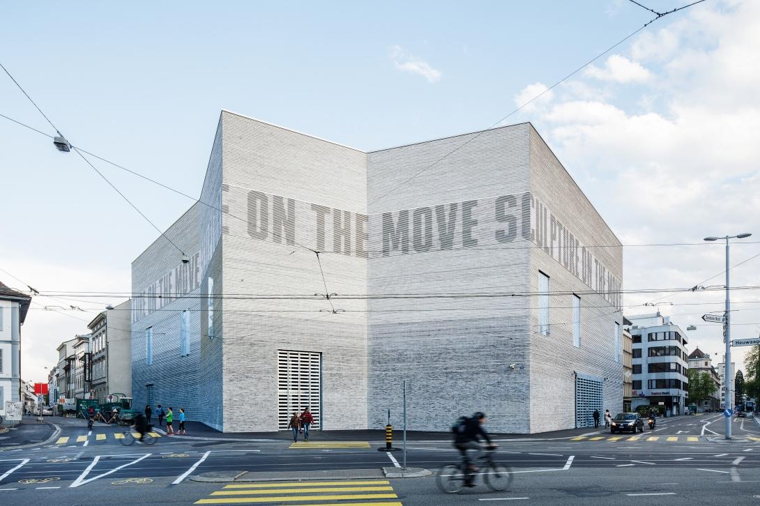 Kunstmuseum, Basel, iArt, Leucht Fassade,