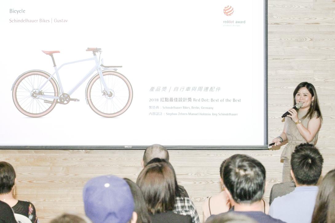 臺灣紅點總監鄭雯瑄說明,國際認證平台已驗證了台灣有傑出的零件與整車設計製造實力,若能在各方面能更聚焦核心策略,可望開創新局面